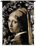 Vermeer Graffitio Wall Tapestry