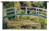 Le Pont Japonais Wall Tapestry