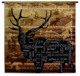Nature's Calling Wall Tapestry