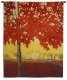 Fire Maple Wall Tapestry
