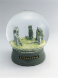 Stonehenge Buildings in a Snow Globe