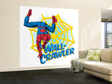 Spider-Man Crawling; Wall-Crawler, Web,