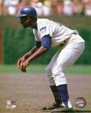 Chicago Cubs Ernie Banks 1969 Action