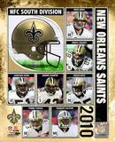 2010 New Orlenas Saints Team Composite