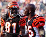 Terrell Owens & Chad Ochocinco 2010 Action
