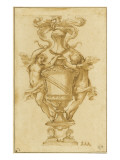 Decorative Vase with the Arms of Albergati Bologna