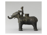 Foot Censers Ornithomorphe: Elephant and His Mahout