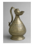 Ewer with Zoomorphic Spout Inlaid Silver and Copper