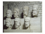 Heads of the Kings of Judah from Notre Dame De Paris