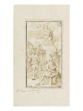 Apparition of the Virgin and Child with Many Saints