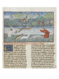 The Book of Gaston Phoebus Hunting: Hunting the Otter
