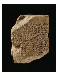 Tablet Bearing the Text of a Sumerian Creation Myth