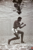 Ali - Underwater boxing