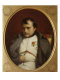Delaroche, Napoleon after His Farewell Speech at Fontainebleau