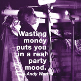 Wasting Money Art Print