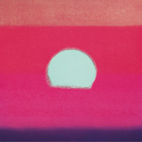 Sunset, c.1972 40/40 (fuchsia) Art Print
