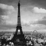 The Eiffel Tower, Paris France, c.1897 Art Print
