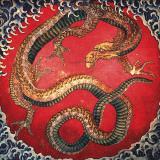Dragon (detail)