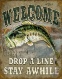 Buy Welcome Bass Fishing at AllPosters.com