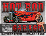 Legends - Hot Rod Garage Tin Sign