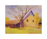 Old Cotton Barn, Beech Island, South Carolina Giclee Print