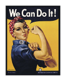 We Can Do It! Giclee Print