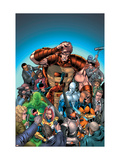 New Thunderbolts No.7 Cover: MACH-IV