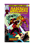 Daredevil No.162 Cover: Daredevil Fighting