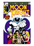 Moon Knight #1 Cover: Moon Knight