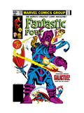 Fantastic Four #243 Cover: Galactus,