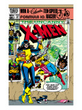 Uncanny X-Men No.153 Cover: Shadowcat and Colossus