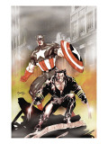 Wolverine Captain America No.1 Cover: Wolverine and Captain America