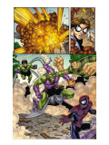 Marvel Adventures Spider-Man No.12 Group: Spider-Man, Green Goblin, Sandman and Doctor Octopus