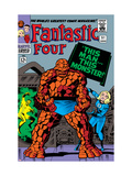 Fantastic Four #51 Cover: Invisible Woman and Thing