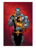 Astonishing X-Men #6 Cover: Colossus, Shadowcat, Pryde and Kitty