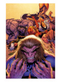 X-Men Forever No.2 Cover: Sabretooth