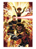 Ultimatum: X-Men Requiem #1 Cover: Wolverine, Cyclops, Grey and Jean