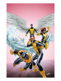 X-Men: First Class #11 Cover: Cyclops, Beast, Angel, Iceman and Marvel Girl