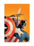 Avengers No.77 Cover: Captain America, Wasp, Hawkeye and Avengers