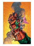 New Thunderbolts No.6 Cover: Baron Strucker, Radioactive Man, Songbird and New Thunderbolts