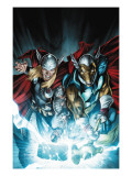 Secret Invasion: Thor #3 Cover: Thor and Beta-Ray Bill