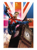 Captain Britain and MI13 No.13 Cover: Captain Britain