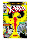 Uncanny X-Men No.125 Cover: Phoenix, Colossus, Storm, Madrox and Havok