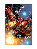 The Invincible Iron Man #1 Cover: Iron Man Art Print