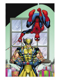 Marvel Holiday Special 2007 #1 Cover: Spider-Man and Wolverine