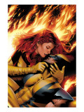 X-Men: Phoenix - End Song No.3 Cover: Phoenix and Wolverine