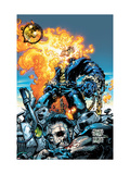 Ghost Rider V3 No.6 Cover: Ghost Rider and Gunmetal Gray