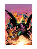 Fantastic Four: Foes No.2 Cover: Annihilus