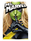 Ms. Marvel No.25 Cover: Ms. Marvel