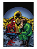 Marvel Adventures Spider-Man #11 Cover: Spider-Man and Mad Thinker